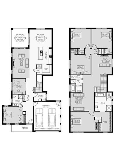 CAMBRIDGE 38 Floor Plan