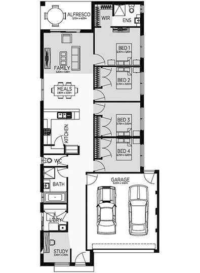 EDINBOROUGH 19 Floor Plan