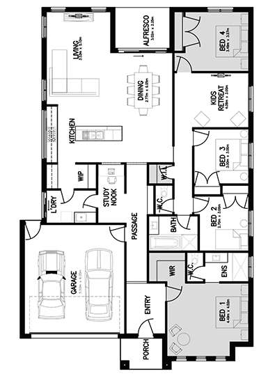 SOVEREIGN 25 Floor Plan