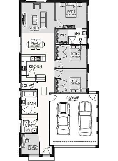 EDINBOROUGH 16 Floor Plan