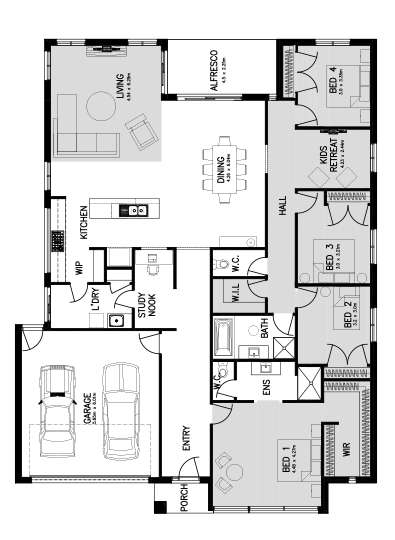 SOVEREIGN 29 (FRONT MASTER) Floor Plan