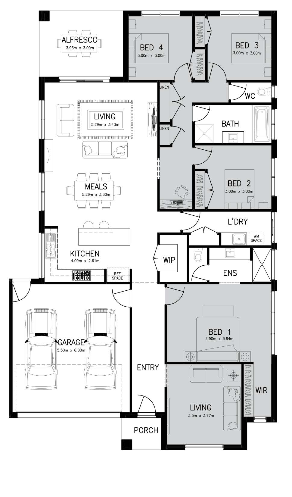 ARLINGTON 25 (GRAND MASTER) Floor Plan